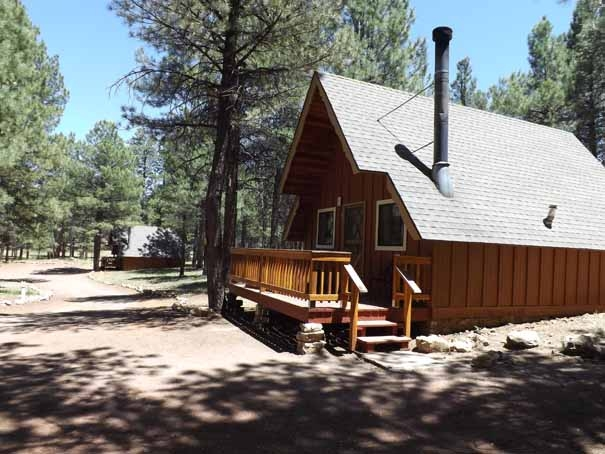 at for x in az rent new cabin cabins photo rental of deck flagstaff att