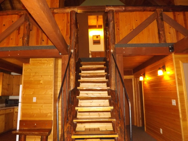 Cabin 14 staircase
