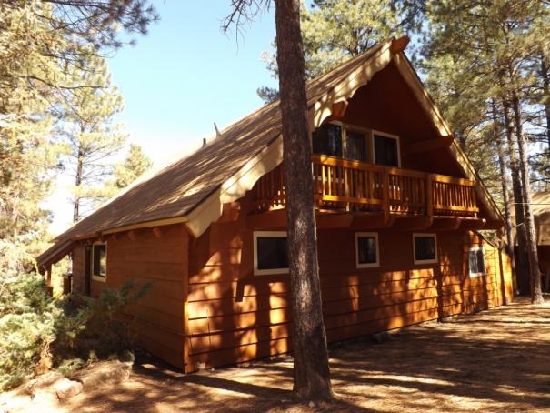 Cabin 16 - Back