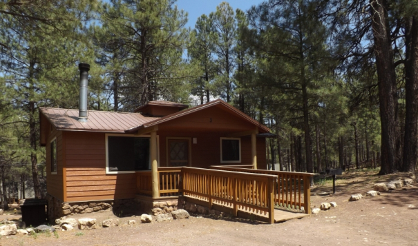 Charming Cabin Vacation Rental Arizona Mountain Inn And