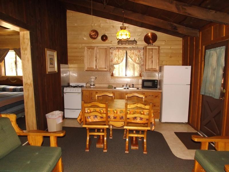 Cabin 5 New Kitchen
