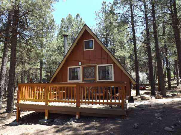 picturesque accommodations arizona for rental mountain cabin new cabins and inn rent flagstaff