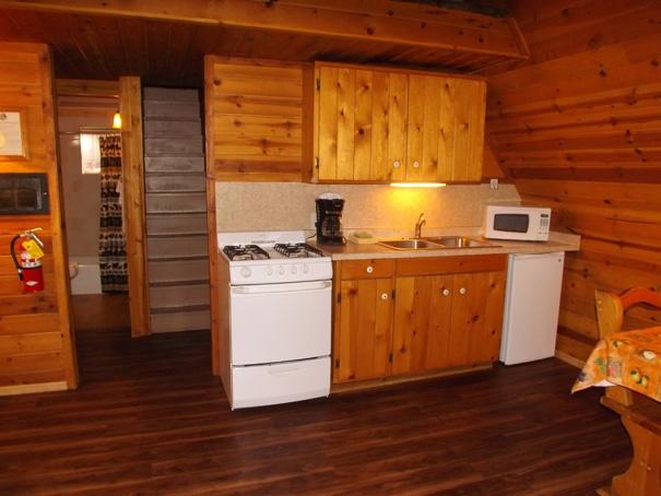 Cabin 6 New Kitchen