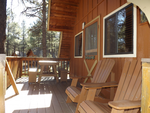 Cabin 9 Outside