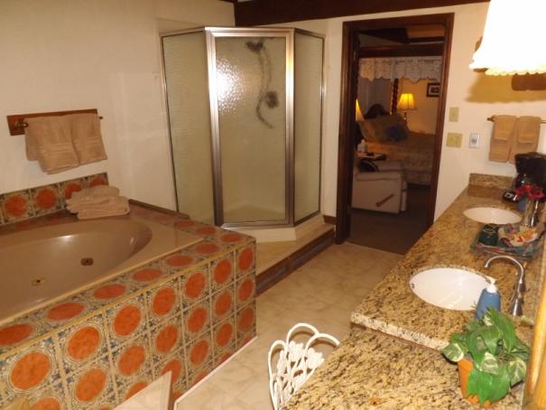 Suite 21 New VAnity & Shower