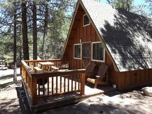 Our beautiful cabins in the woods of Flagstaff are a wonderful place to relax and enjoy yourself.